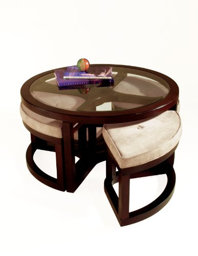 Cheap Round Glass Coffee Table