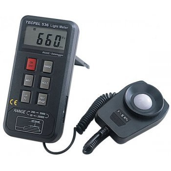 Tecpel Light Meter Datalogger (16,000 Records) - Tecpel DLM-536