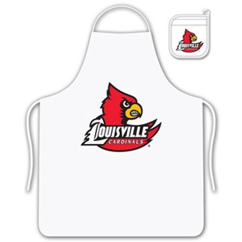 NCAA Louisville Cardinals Tail Gate Kit Apron & Mitt