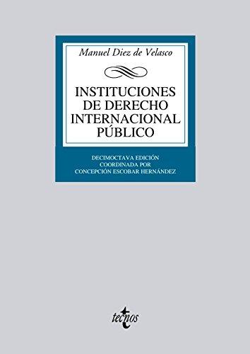 Instituciones de Derecho Internacional público (Derecho - Biblioteca Universitaria De Editorial Tecnos)