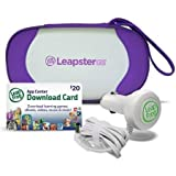 Leap Frog Leapster Gs Explorer Travel & Play Accessories Bundle, Purple