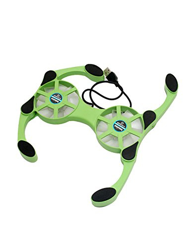 Speed Sp Cp Fld Big G laptop Cooling Pad Sp Cp Fld Big B (Green)  available at amazon for Rs.239