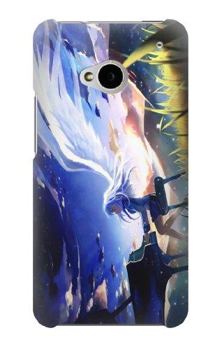 S1537 Angel Beats Tenshi Kanade Tachibana Case Cover For Htc One M7