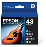 Epson 48 T048920 Inkjet Cartridge Color Multipack -1 Cyan/1 Light Cyan/1 Magenta/1 Light Magenta/1 Yellow