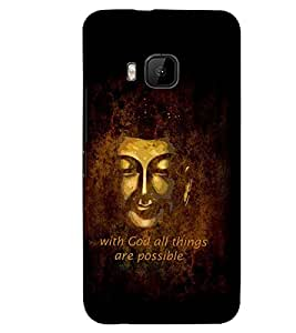 PRINTSWAG QUOTE Designer Back Cover Case for HTC ONE M9