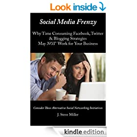 Social Media Frenzy: Why Time Consuming Facebook, Twitter & Blogging Strategies  May NOT Work for Your Business - Consider These Alternative Social Networking Initiatives