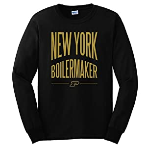 Your Choice Of Purdue Boilermaker State Long-Sleeve T-Shirt - Black by Purduegear.Com