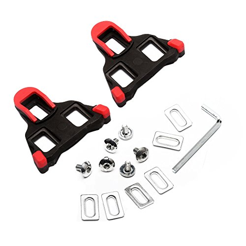West Biking Pedals Cleats for Cycling Shoes For Shimano Road SM-SH11 SPD-SL (Cycling Shoe Cleat Set compare prices)