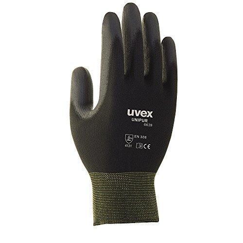 10-Paar-uvex-Unipur-6639-Arbeitshandschuhe-mit-PU-Beschichtung-Schutzhandschuhe-gegen-mechanische-Risiken-EN-388-M-8