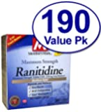 Simply Right Ranitidine , Acid Reducer 150 Mg 190 Tablet Count - Compare to Zantac 150
