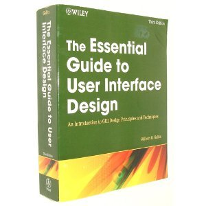 The Essential Guide to User Interface Design 3rd (Third) Edition byGalitz, by Galitz