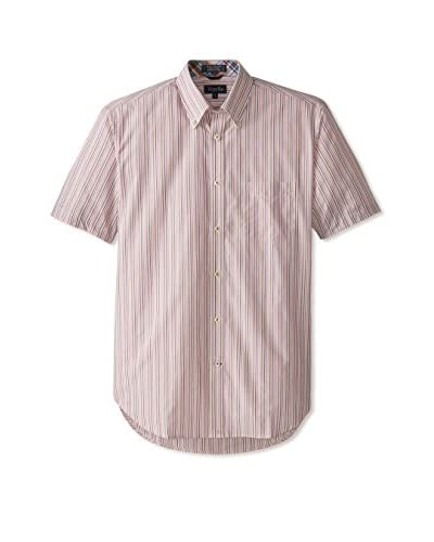 Viyella Men's Short Sleeve Striped Shirt