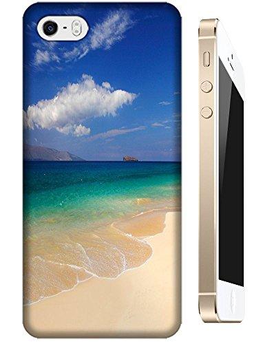Samsung Galaxy Accessories Beautiful Beach Sunshine Sea Water Clean White Cloud Design For Samsung Galaxy S4 I9500 No.10 front-242176