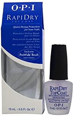OPI Rapidry Top Coat Nail Polish, 0.5 oz