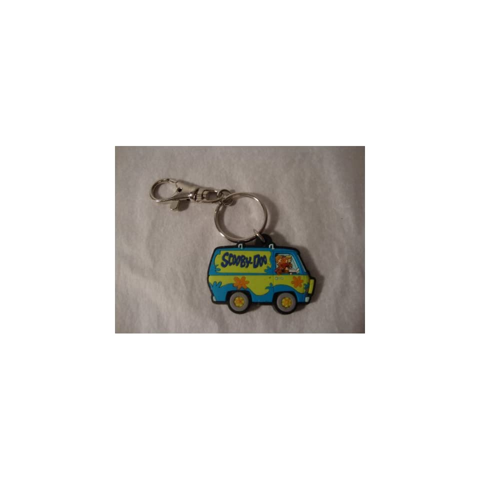 Scooby Doo Mystery Machine Rubber Keychain