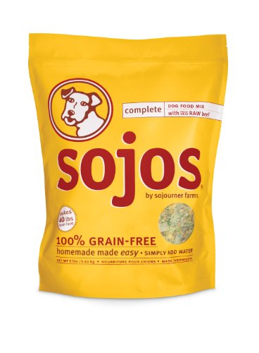 Sojos Complete Beef Dog Food Mix (2 lb)
