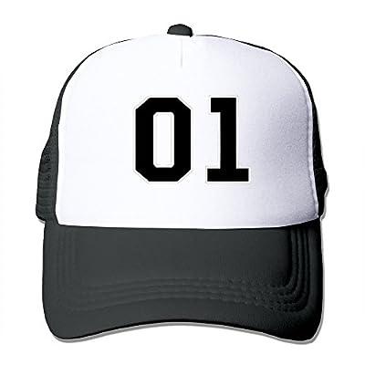 Unisex Hazard Logo Dukes Of Hazzard General Lee Number Snapback Mesh Trucker Cap Black