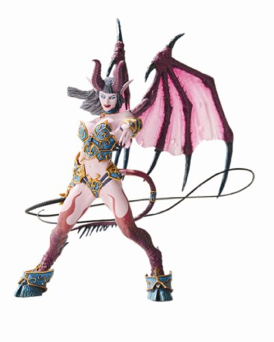 Picture of Diamond Comics World of Warcraft Series 4: Succubus Demon: Amberlash Action Figure (B001EW0HHY) (Diamond Comics Action Figures)