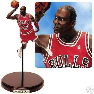 0ab72d3281b99e Chicago Bulls - Michael Jordan (1988 Slam Dunk Contest) Upper Deck NBA  Historical Beginnings Figurine