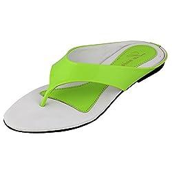 Lamere Womens Fashion Synthetic Green Heels (LA-351) 40