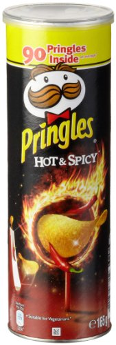 Pringles Hot & Spicy, 3er Pack (3 x 165 g Dose)