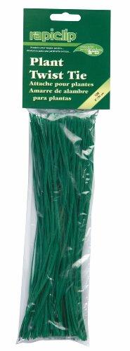 Luster Leaf Rapiclip Garden Plant Twist Tie Strips - 100 Pack848