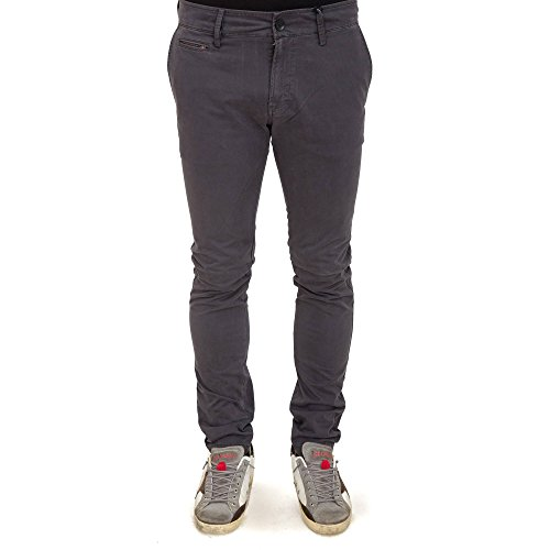 DIESEL - - Uomo - Chino Slim Gris Anthracite Chi-Shaped pour homme -