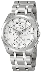 Tissot Men's TIST0356171103100 Couturier Silver Dial Watch