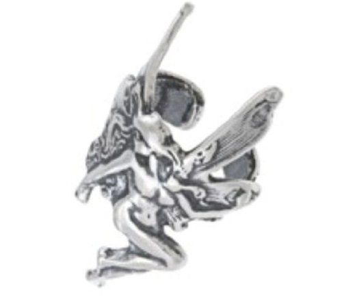 Silver Moon EB3612 Sterling Silver Fairy Ear Cuff Earrings