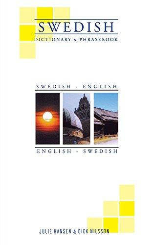 Swedish-English/English-Swedish Dictionary & Phrasebook (Hippocrene Dictionary & Phrasebooks)