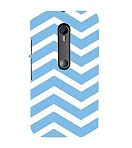 99Sublimation Animated Pattern of Chevron Arrows 3D Hard Polycarbonate Back Case Cover for Motorola Moto G3 :: G 3rd Gen :: G Gen 3 :: G Dual SIM 3rd Gen :: G3 Dual SIM