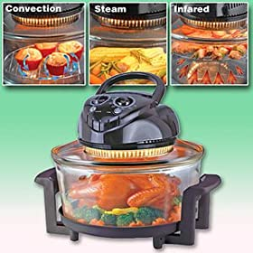 12 Liter Halogen Convection Oven