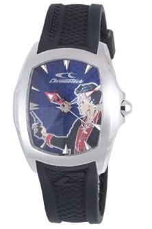 buy Chronotech Ct.7076M-03 Mens Blue Dial Watch