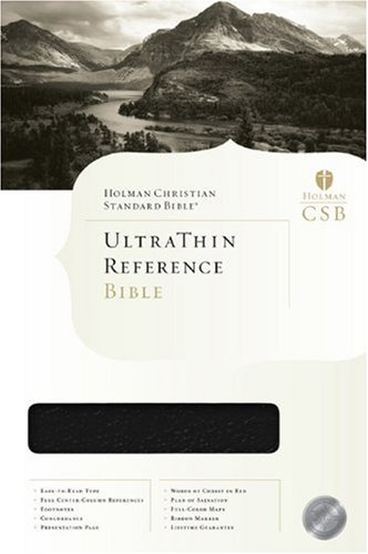 HCSB Ultrathin Reference Bible