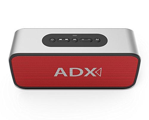 Audio Dynamix ® Atom V3 ricaricabili V4,0-Altoparlanti Bluetooth stereo, in alluminio, per impostazioni predefinite EQ Sélectionnables, tecnologia di miglioramento dei bassi e fino a 35 ore di autonomia