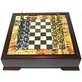 Lead Alloy Golf Chess Set