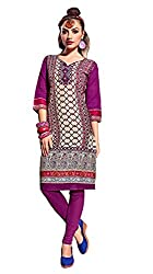 Rise N Shine Multicoloured Cotton Printed Casual Wear Kurti