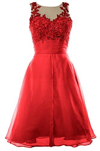MACloth -  Vestito  - Donna rosso 34