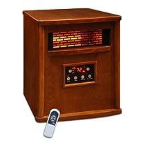 LifeSmart 1500 Watt 4 Element Quartz IR Heater