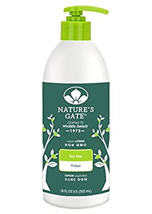 Nature's Gate Tea Tree Moisturizing Lotion for Irritated
