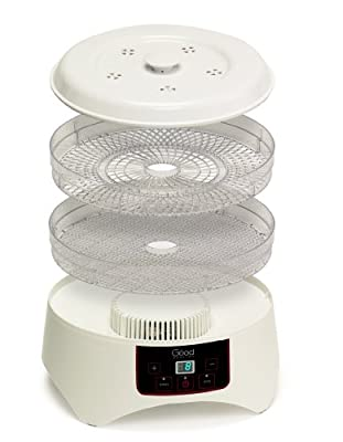 Dehydrator - Electric Professional Grade Food Dehydrator with Four Trays By Good Cooking - Dries 30% Faster by Good Cooking
