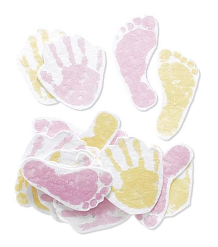 Jolee's By You-Pink Hand & Foot Prints