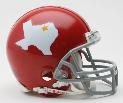 Dallas Texans 1960-1962 Throwback Riddell Mini Football Helmet