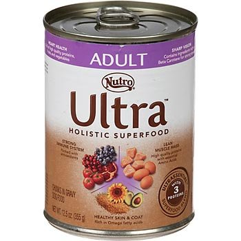 Ultra Adult Chunks In Gravy Canned Dog Food, 12.5-Ounce, Pack Of 12