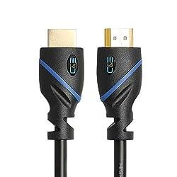 DVI Gear HDMI-2M 2M 6 HDMI Cable 8 Feet (2-Pack)