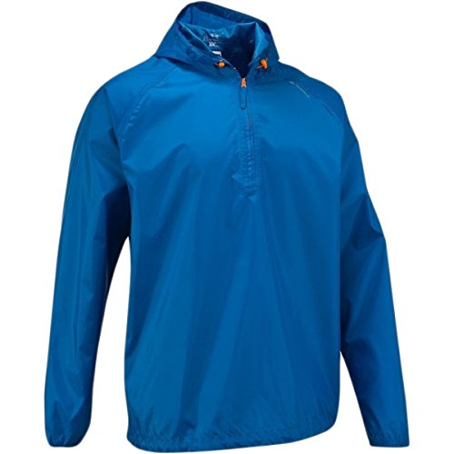 Quechua Rain Cut Jacket, Medium/Large (Blue)