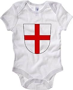 T-Shirtshock - Baby Bodysuit TSTEM0036 freiburg coat of arms