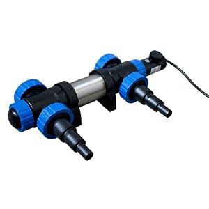 Jebao pht2000  Jebao Teichheizung  2000 Watt Leistung  Edelstahlkörper  mit Thermostat  Eisfreihalter  Teichheizer  GartenÜberprüfung und Beschreibung