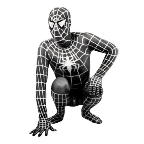 Black Spider-man Costume - Adult Small