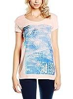 Guess Camiseta Manga Corta (Rosa)